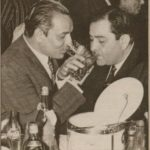 Mukesh Drinking Alcohol With Raj Kapoor