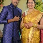 Geetha Madhuri with her husband Nandu