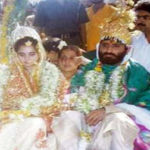 Narayan Sai With His Wife
