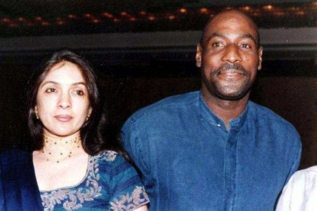 Neena Gupta And Sir Vivian Richards
