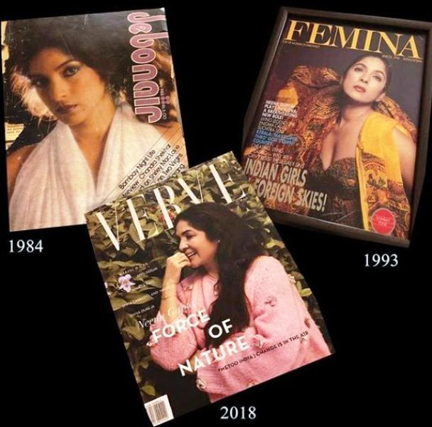 Neena Gupta Featured on the Cover of a Few Magazines