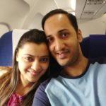 Neha Pant Enjoying With Her Husband Mayank Pant