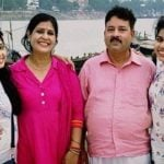 Neha Sargam with family