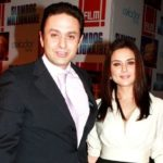 Ness Wadia with Preity Zinta