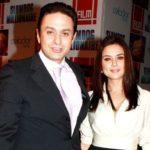 Ness Wadia with Preity Zinta