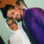 Noor with his mother