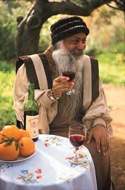 Osho Drinking Alcohol