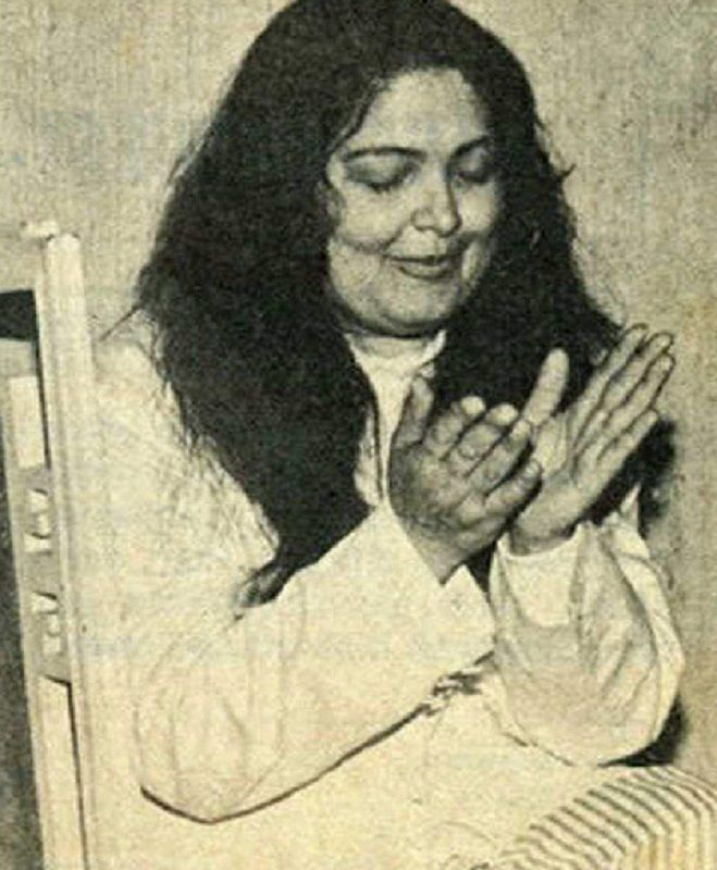 Parveen Babi After Gaining Weight