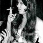 Parveen Babi Smoking