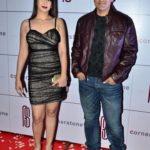 Parvin Dabas with his wife Preeti Jhangiani