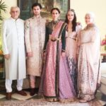 Pia Sodhi with her parents and siblings