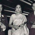 Raj Kapoor With Vyjayanthimala And Lyricist Shailendra