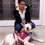 Roop Gill dog lover
