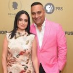 Russell Peters with Ruzanna Khetchian