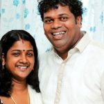 Saju Navodaya with his wife