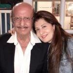 Sangeeta Bijlani with her father
