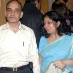 Satyapal Singh With His Wife Alka Singh