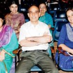 Satyapal Singh With His Wife And Daughter Richa