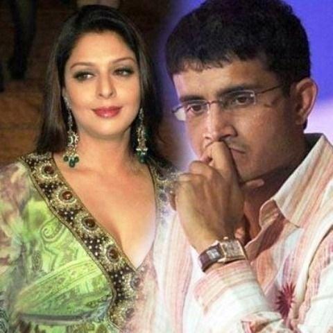 Saurav Ganguly And Nagma