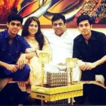 Shariq Nanda with his family