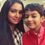 Sriram Iyer wife Uthara Iyer with son