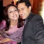 Sumeet Sachdev with wife