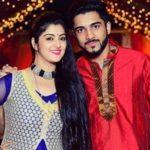 Shweta Bhattacharya with brother