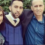 The PropheC with his parents