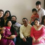 Tia Gandwani with family