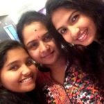 Venba with her mother and sister