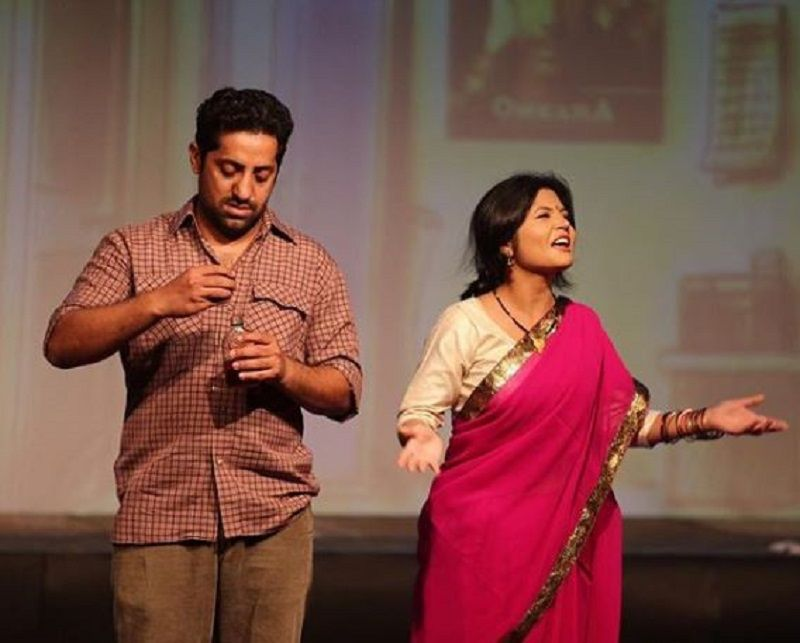 Vikram Kochhar Performing in a Theatre Play