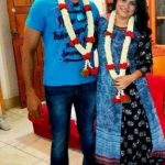 Vinnod Prabhakar with his wife Nisha