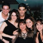 Sussanne Khan with her siblings and brother-in-law