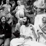 A. C. Bhaktivedanta Swami Prabhupada With George Harrison The Leading Star of ''Beatles''
