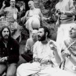 A. C. Bhaktivedanta Swami Prabhupada With George Harrison The Leading Star of ''Beatles''