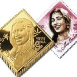 Madhubala's Commemorative Postage Stamp