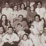 Raj Kapoor With His Family