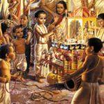 A. C. Bhaktivedanta Swami Prabhupada Organises Jaganatha Rath Yatra- An Imaginary Picture