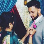 Aamber Dhillon with her Brother