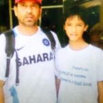 Abhishek Sharma With Sachin Tendulkar