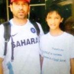 Abhishek Sharma With Sachin Tendulkar