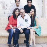 Akshat Rajan with his family