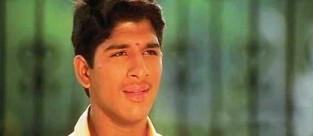 Allu Arjun in Movie Gangotri
