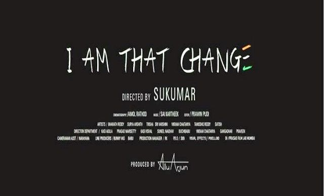 Allu Arjun in Movie I Am That Change