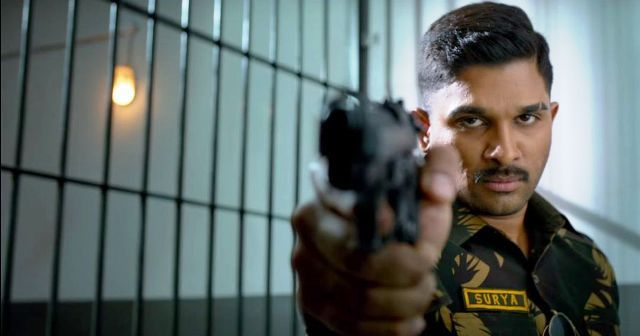 Allu Arjun in Movie Naa Peru Surya