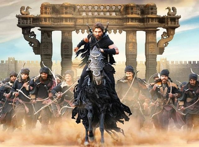 Allu Arjun in Movie Rudhramadevi