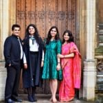 Amitabh Kant With His Wife And Daughters