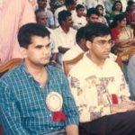 Amitabh Kant With Viswanathan Anand