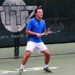 Andrei Koscheev playing tennis