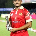 Aniruddha Joshi declared man of the match